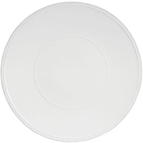 Блюдо круглое белое Costa Nova Friso 34см, фото