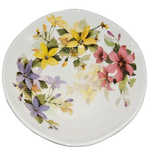Тарелка для супа Ceramica Cuore Цветочное настроение, фото