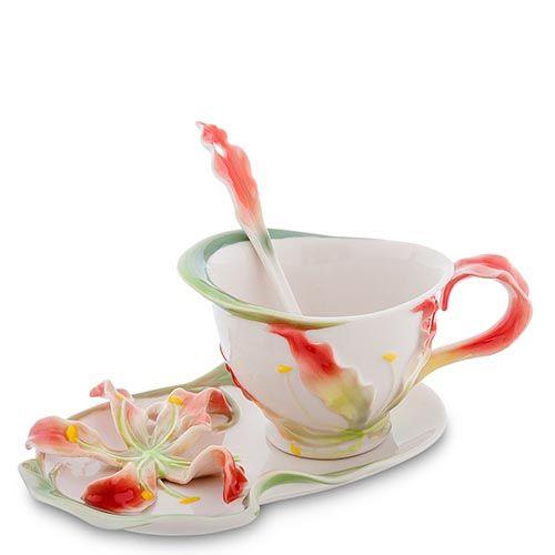 Чайная пара Pavone Глориоза, фото