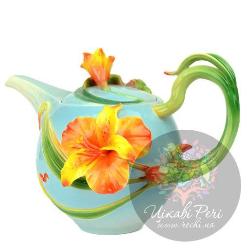 Заварочный чайник Лилии Pavone, фото