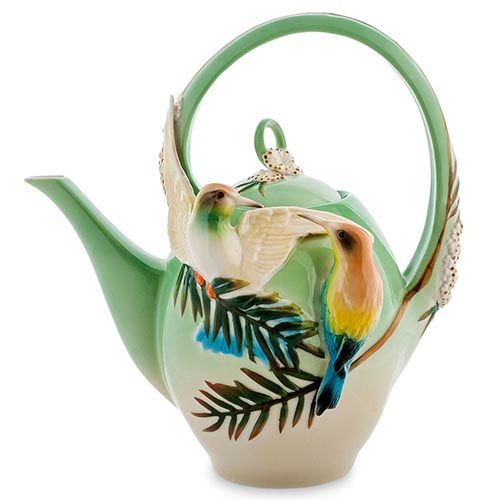 Заварочный чайник Pavone Радужная щурка, фото