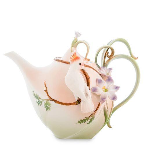 Заварочный чайник Pavone Попугай Какаду, фото