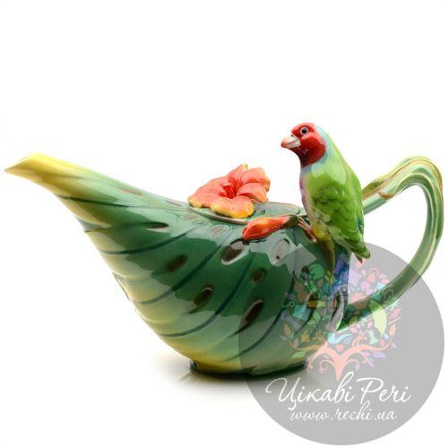 Заварочный чайник Pavone «Попугай», фото