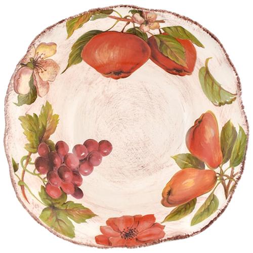 Тарелка для супа Villa Grazia Осенний ноктюрн 19см, фото