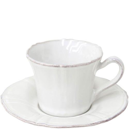 Набор из 6 чайных чашек с блюдцами Costa Nova Village белого цвета, фото