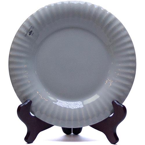 Набор из 6 тарелок Costa Nova Village серого цвета 22см, фото