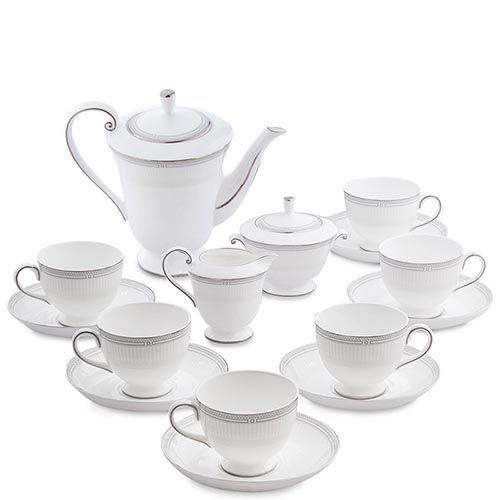 Чайный сервиз Pavone из фарфора на шесть персон Венецианская Классика, фото