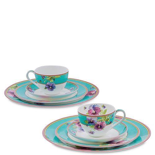 Чайный набор Pavone на две персоны Viola, фото