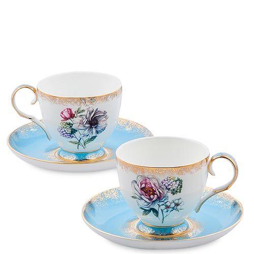 Чайный набор Pavone на две персоны Цветок Неаполя, фото