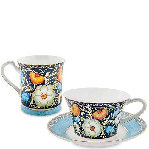 Чайный дуэт Pavone Цветочный джаз, фото