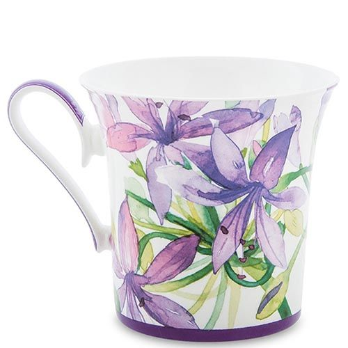 Чашка Pavone Аквилегия, фото