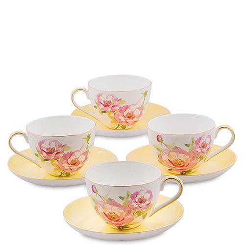 Чайный набор Pavone Torino Peony на четыре персоны, фото