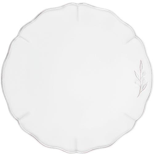 Белое блюдо Costa Nova Alentejo 34см, фото