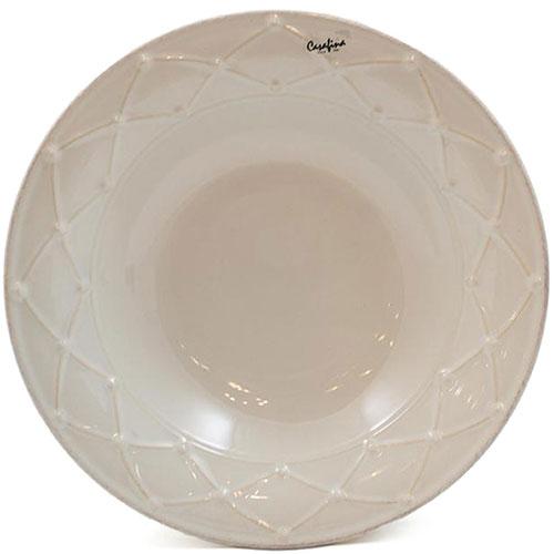 Тарелка для супа Nova Meridian белая 23см, фото