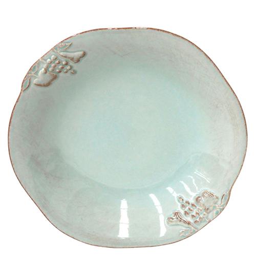 Тарелка для супа Costa Nova Mediterranea бирюзовая 570мл, фото