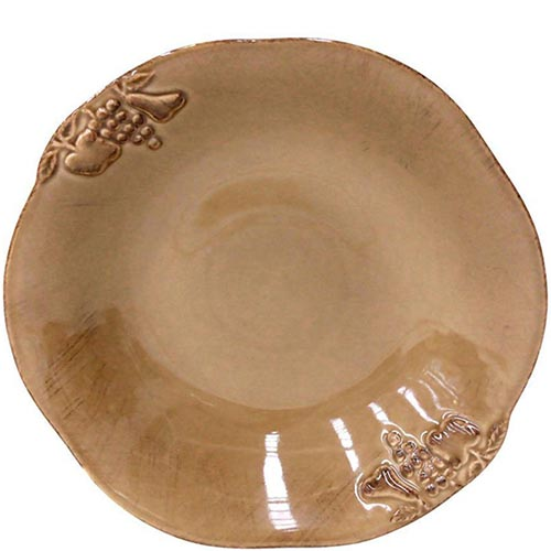 Набор из 6 тарелок для супа Costa Nova Mediterranea коричневый 570мл, фото