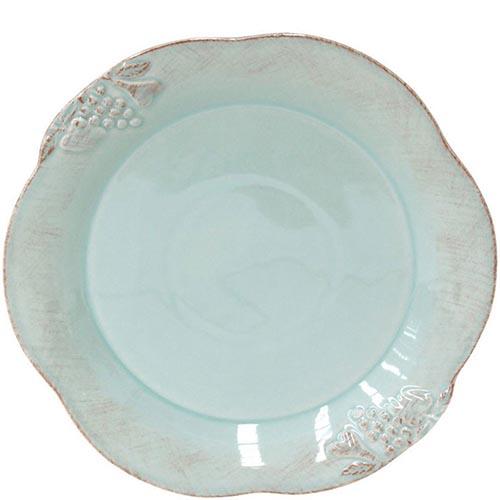 Набор из 6 тарелок Costa Nova Mediterranea голубого цвета 30см, фото