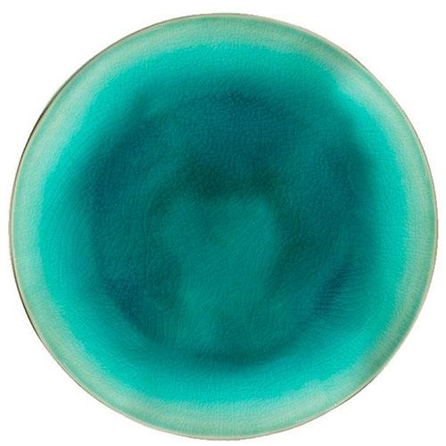 Десертная тарелка Costa Nova Riviera голубого цвета из керамики, фото