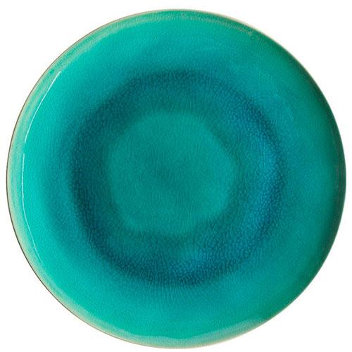 Обеденная тарелка Costa Nova Riviera голубого цвета, фото