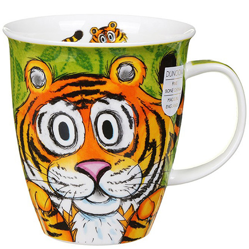 Чашка Dunoon Nevis Go Wild Tiger, фото