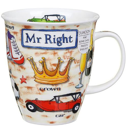 Чашка Dunoon Nevis Mr. Right, фото