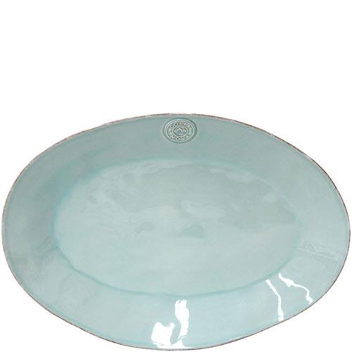 Блюдо овальное Costa Nova Nova 40х28.3см голубое, фото