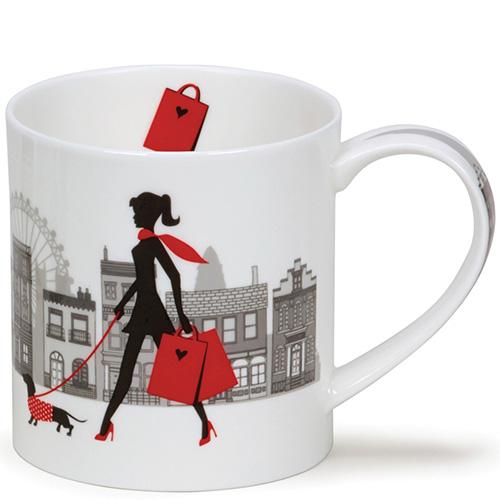 Чашка Dunoon Orkney City Chic Счастливые покупки, фото
