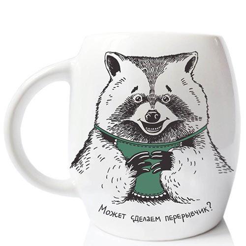 Чашка Orner Store Енот, фото