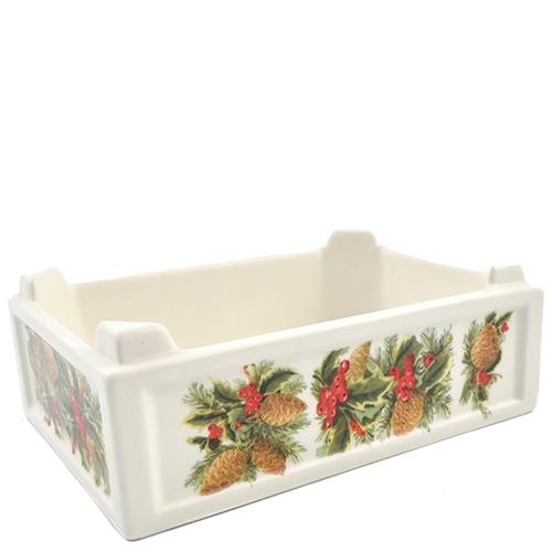 Ящик для фруктов Villa Grazia Зимний букет 20х14см, фото