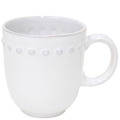 Белая чашка Costa Nova Pearl для чая, фото
