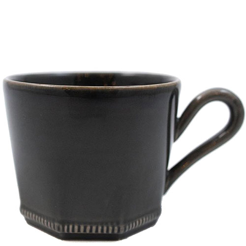 Чашка Costa Nova Luzia Greste темно-серая 340мл, фото