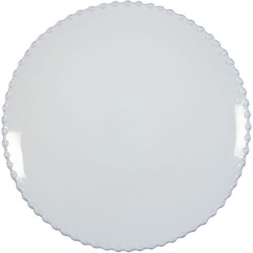 Тарелка обеденная Costa Nova Pearl 28см белая, фото