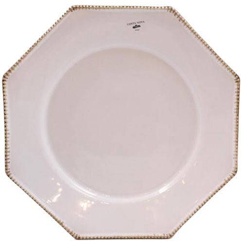 Тарелка обеденная Costa Nova Luzia светло-серая 30см, фото