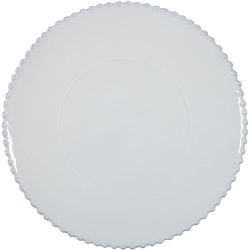 Блюдо для нарезки Costa Nova белое Pearl 33см, фото