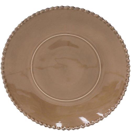 Блюдо для нарезки Costa Nova Pearl коричневого цвета 33см, фото