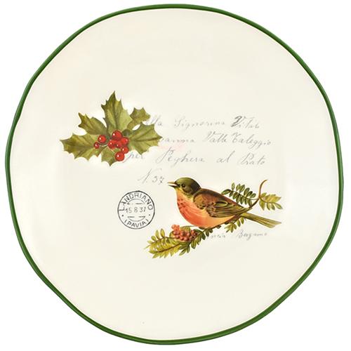 Набор обеденных тарелок Villa Grazia Рождественская трель на 6 персон, фото