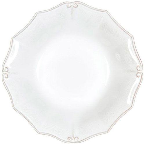 Суповая тарелка Costa Nova Barroco из белой керамики, фото