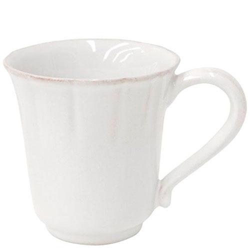 Чашка белого цвета Costa Nova Alentejo из огнеупорной керамики, фото