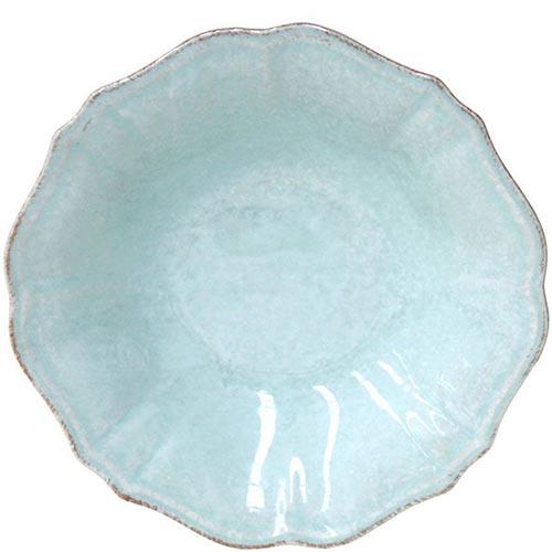 Набор из 6 тарелок для супа Costa Nova Impressions голубого цвета 520мл, фото