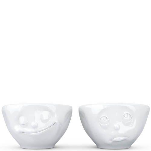 Набор Tassen Happy. Oh Please! из двух белых пиал по 100 мл, фото
