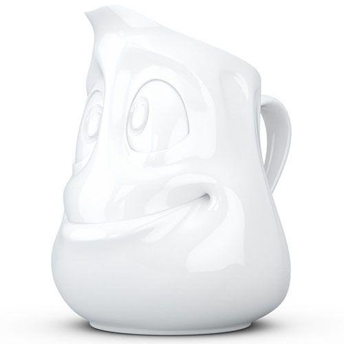 Кувшин Tassen Jolly белый глянцевый, фото