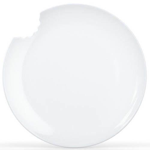 Тарелка Tassen with bite белая (2шт), фото