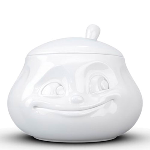 Фарфоровая сахарница Tassen Sweet белого цвета, фото