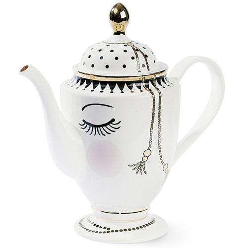Заварочный чайник Miss Etoile Closed eyes 26,5см, фото
