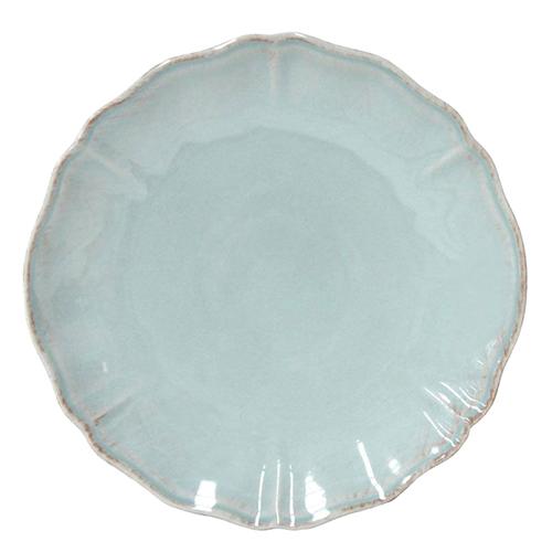 Тарелка обеденная Costa Nova Alentejo бирюзового цвета 27см, фото
