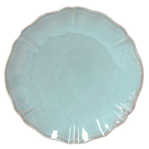 Набор из 6 обеденных тарелок Costa Nova Alentejo бирюзового цвета, фото