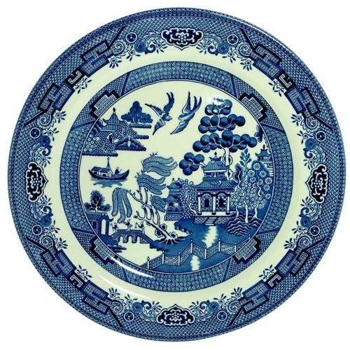 Тарелка Churchill Blue Willow 17 см, фото