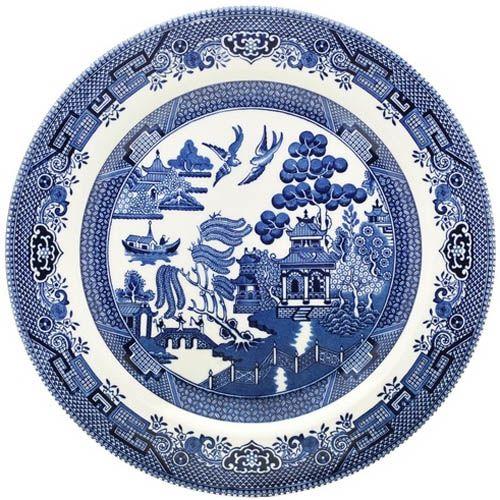 Тарелка Churchill Blue Willow 26 см, фото