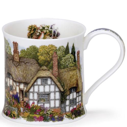 Чашка Dunoon WSX Country Cottages Соломенный деревенский домик 0,3 л , фото