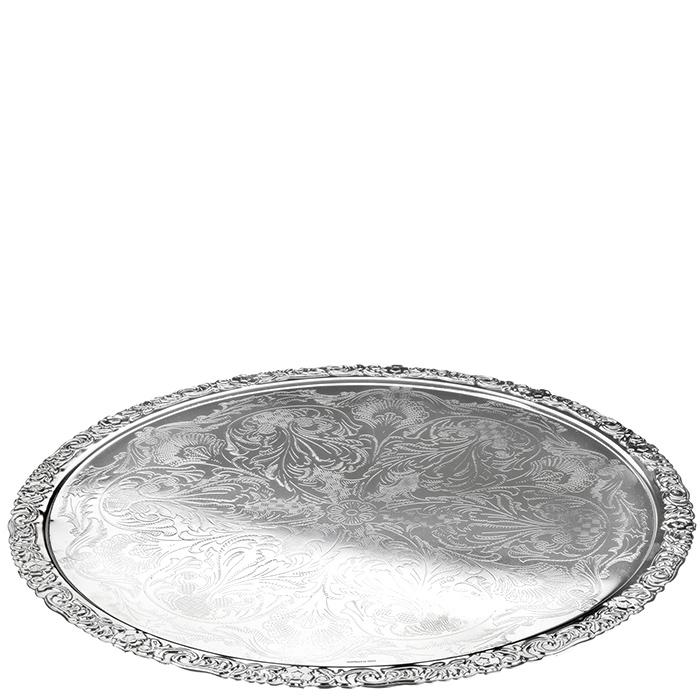 Подстановочная тарелка Queen Anne с декоративными узорами